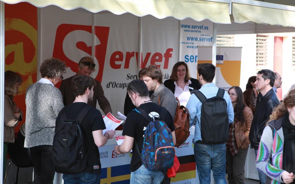 Stand del SERVEF en el Foro UPV 2015